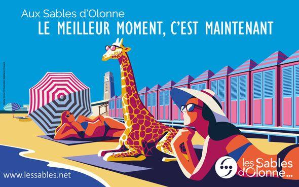 Campagne communication 2019 aux Sables d'Olonne