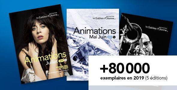 Guides Animations, plus de 80000 exemplaires en 2019, 5 éditions