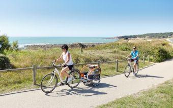 Vendée Vélo - Baie de Cayola - Crédit Alexandre Lamoureux Vendée Expansion