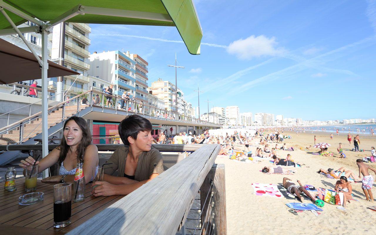 Restaurants sur la grande plage des sables d 39 olonne - Office de tourisme sable d olonne ...