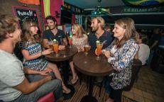 Bar sur le port de pêche aux Sables d'Olonne