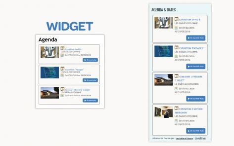 widget agenda
