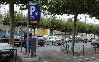 Parking cours Dupont Les Sables d'Olonne en Vendée