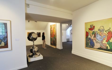 Musée de l'Abbaye Sainte Croix - oeuvres de Chaissac