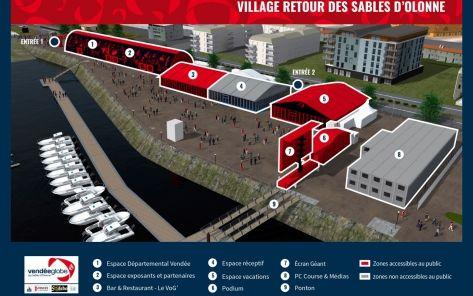 Village Retour Vendée Globe - Les Sables d'Olonne